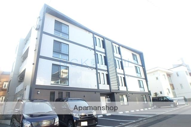 北海道札幌市西区、琴似駅徒歩14分の新築 4階建の賃貸マンション