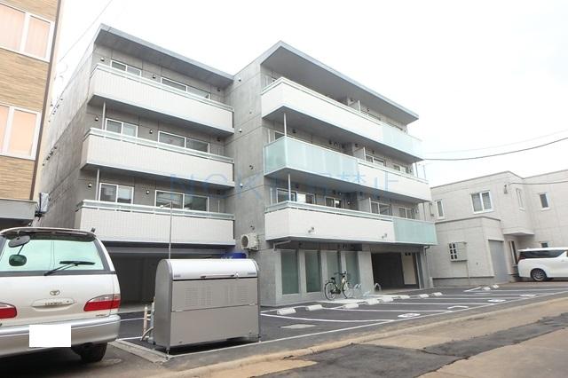 北海道札幌市西区、琴似駅徒歩10分の新築 4階建の賃貸マンション