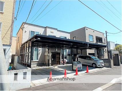 北海道札幌市西区、宮の沢駅JRバスバス12分西野8条8丁目停下車後徒歩3分の築12年 2階建の賃貸アパート
