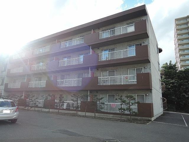 北海道札幌市手稲区、稲穂駅徒歩24分の築26年 4階建の賃貸マンション