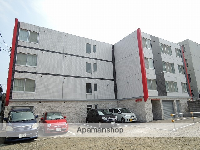 北海道札幌市手稲区、手稲駅徒歩6分の築3年 4階建の賃貸マンション
