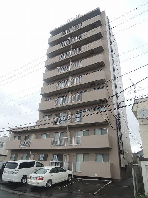 北海道札幌市手稲区、手稲駅徒歩26分の築20年 9階建の賃貸マンション