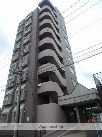 北海道札幌市西区、発寒中央駅徒歩20分の築24年 9階建の賃貸マンション