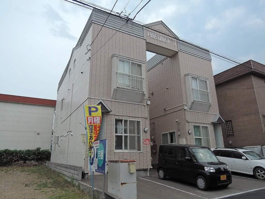 北海道札幌市西区、発寒中央駅徒歩23分の築27年 2階建の賃貸アパート