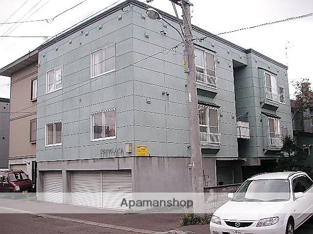 北海道札幌市手稲区、手稲駅徒歩20分の築23年 2階建の賃貸アパート
