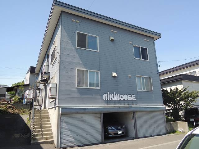 北海道札幌市手稲区、手稲駅徒歩12分の築27年 2階建の賃貸アパート