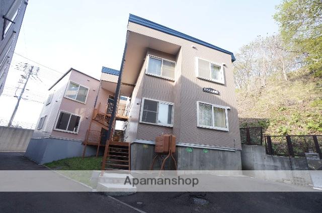 北海道札幌市手稲区、ほしみ駅徒歩6分の築23年 2階建の賃貸アパート