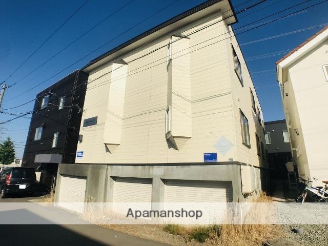 北海道札幌市手稲区、手稲駅バス13分新発寒5−2下車後徒歩3分の築28年 2階建の賃貸アパート