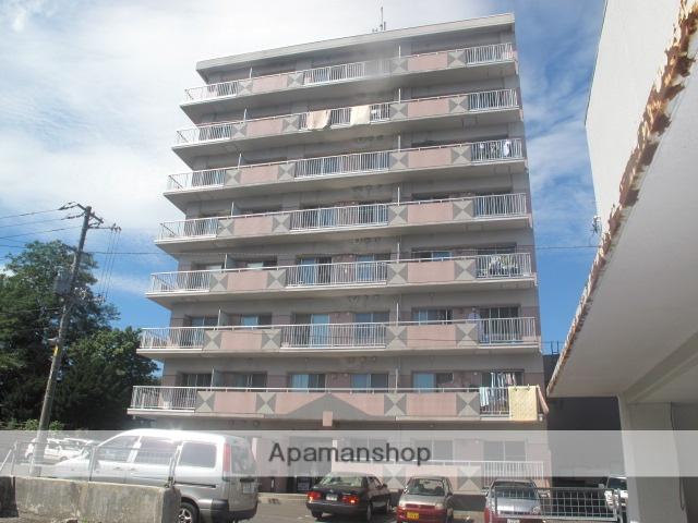 北海道札幌市手稲区、手稲駅徒歩4分の築26年 8階建の賃貸マンション