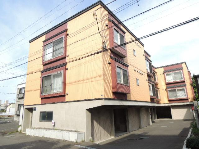 北海道札幌市手稲区、稲積公園駅徒歩6分の築10年 2階建の賃貸アパート