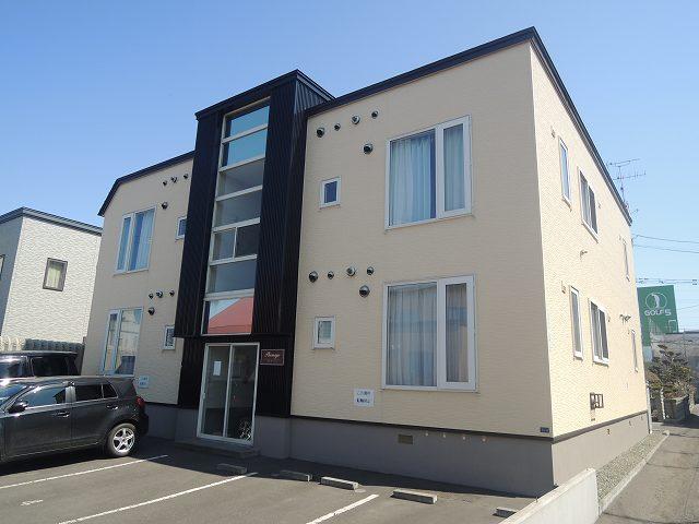 北海道札幌市手稲区、手稲駅徒歩20分の築14年 2階建の賃貸アパート