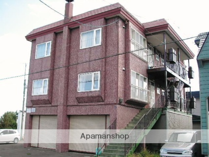 北海道札幌市手稲区、星置駅徒歩11分の築30年 2階建の賃貸アパート
