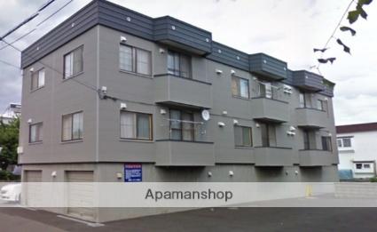 北海道札幌市北区、篠路駅徒歩14分の築35年 3階建の賃貸アパート