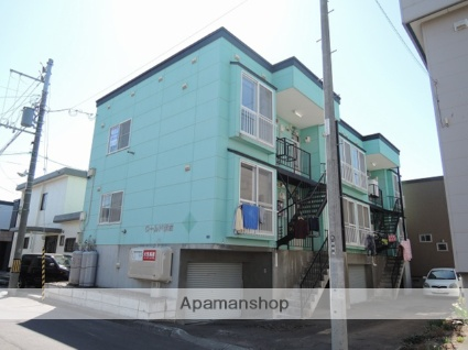北海道札幌市東区の築20年 3階建の賃貸アパート
