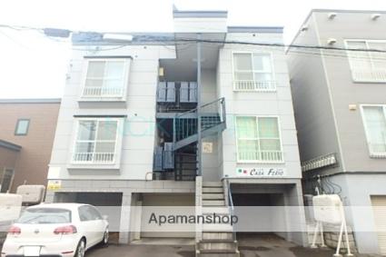 北海道札幌市東区、元町駅徒歩10分の築19年 3階建の賃貸アパート