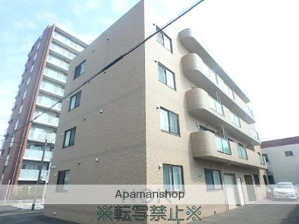 北海道札幌市東区、新道東駅徒歩22分の築6年 4階建の賃貸マンション