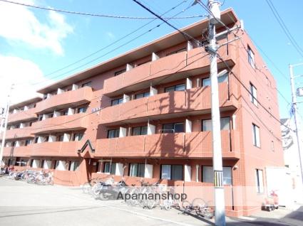 北海道札幌市東区、札幌駅徒歩12分の築18年 4階建の賃貸マンション
