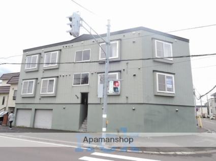 北海道札幌市東区、栄町駅徒歩15分の築19年 3階建の賃貸アパート