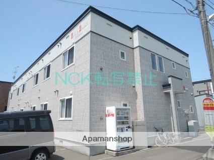北海道札幌市北区、百合が原駅徒歩13分の築12年 2階建の賃貸アパート