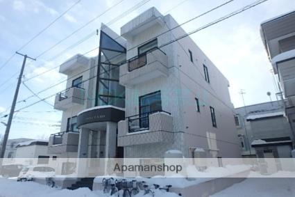 北海道札幌市東区、環状通東駅徒歩8分の築21年 3階建の賃貸マンション