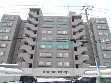 北海道札幌市東区、栄町駅徒歩17分の築19年 8階建の賃貸マンション