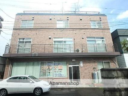 北海道札幌市東区、環状通東駅徒歩10分の築36年 3階建の賃貸マンション