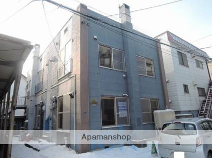 北海道札幌市東区、北34条駅徒歩20分の築41年 2階建の賃貸アパート