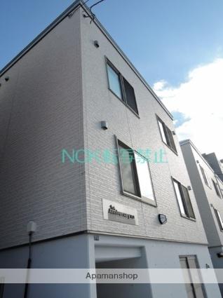 北海道札幌市東区、北34条駅徒歩19分の築7年 3階建の賃貸アパート