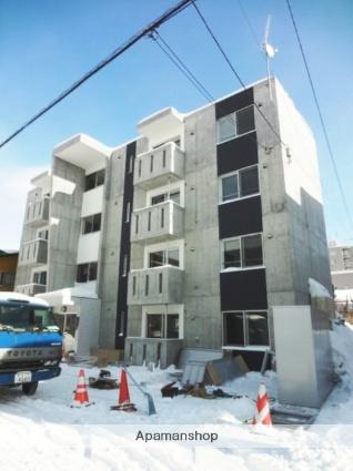 北海道札幌市東区、環状通東駅徒歩10分の築3年 4階建の賃貸マンション
