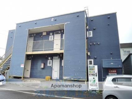 北海道札幌市東区、麻生駅中央バスバス28分モエレ団地前下車後徒歩2分の築22年 2階建の賃貸アパート
