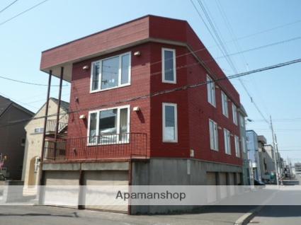 北海道札幌市北区、新川駅徒歩9分の築32年 3階建の賃貸アパート