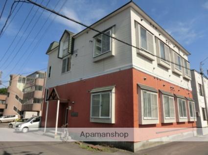 北海道札幌市東区、麻生駅徒歩16分の築25年 2階建の賃貸アパート