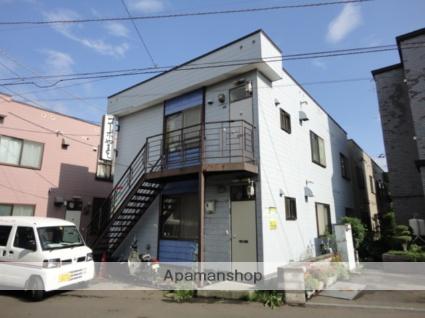 北海道札幌市東区、苗穂駅徒歩17分の築32年 2階建の賃貸アパート