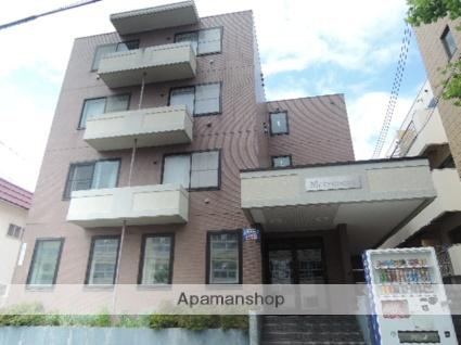 北海道札幌市東区、環状通東駅徒歩17分の築21年 4階建の賃貸マンション