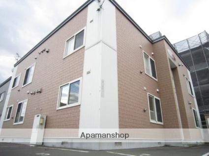北海道札幌市北区、新川駅徒歩3分の築12年 2階建の賃貸アパート