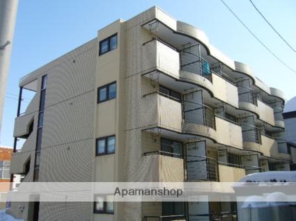北海道札幌市北区、新川駅徒歩30分の築28年 4階建の賃貸マンション