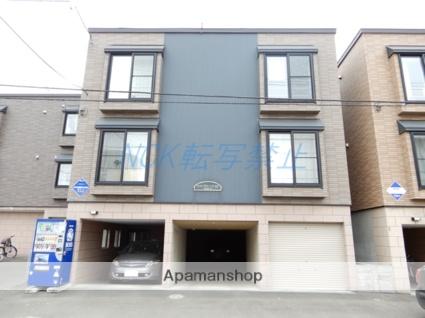 北海道札幌市東区、北24条駅徒歩15分の築8年 3階建の賃貸アパート