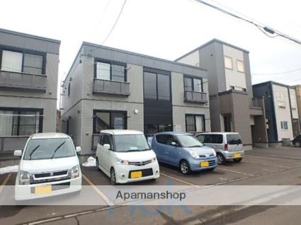 北海道札幌市東区、北18条駅バス15分本町2条1下車後徒歩3分の築12年 2階建の賃貸アパート