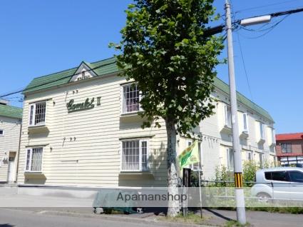 北海道札幌市東区、環状通東駅徒歩15分の築30年 2階建の賃貸アパート