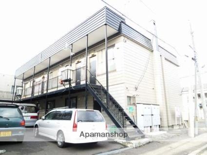 北海道札幌市東区、栄町駅徒歩12分の築36年 2階建の賃貸アパート