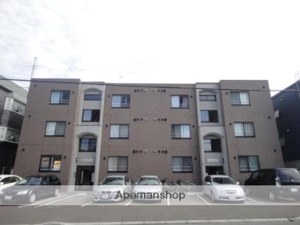 北海道札幌市東区、環状通東駅徒歩6分の築8年 3階建の賃貸マンション