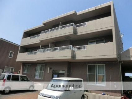 北海道札幌市北区、篠路駅徒歩15分の築20年 3階建の賃貸マンション