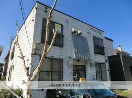 北海道札幌市東区、北34条駅徒歩10分の築33年 2階建の賃貸アパート