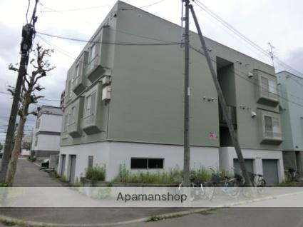 北海道札幌市東区、麻生駅徒歩8分の築29年 2階建の賃貸アパート
