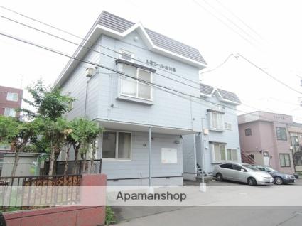 北海道札幌市東区、苗穂駅徒歩18分の築29年 2階建の賃貸アパート