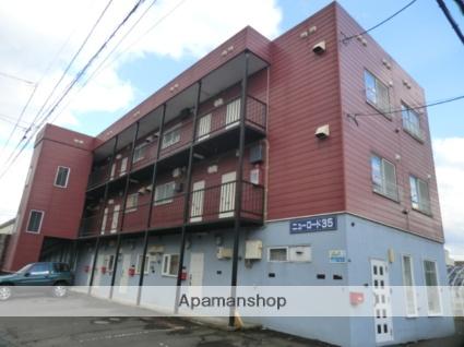 北海道札幌市東区、栄町駅徒歩15分の築27年 3階建の賃貸アパート