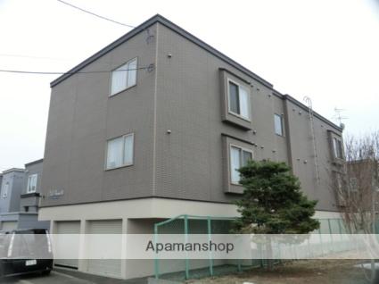 北海道札幌市東区、太平駅徒歩3分の築11年 3階建の賃貸アパート