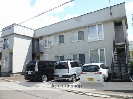 北海道札幌市東区の築30年 2階建の賃貸アパート