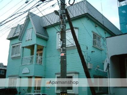 北海道札幌市東区、札幌駅徒歩14分の築30年 2階建の賃貸アパート