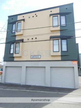 北海道札幌市東区、元町駅徒歩16分の築13年 3階建の賃貸アパート